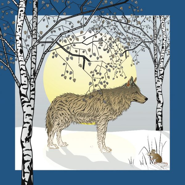 Wolf & Mouse Card